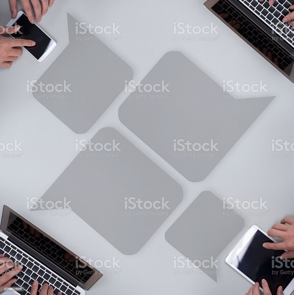 Business image ,chat stock photo
