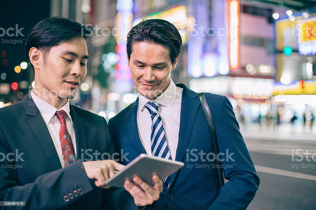 Business in Asia stock photo