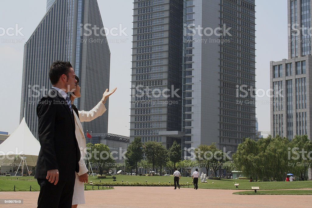 Business in Asia royalty-free stock photo