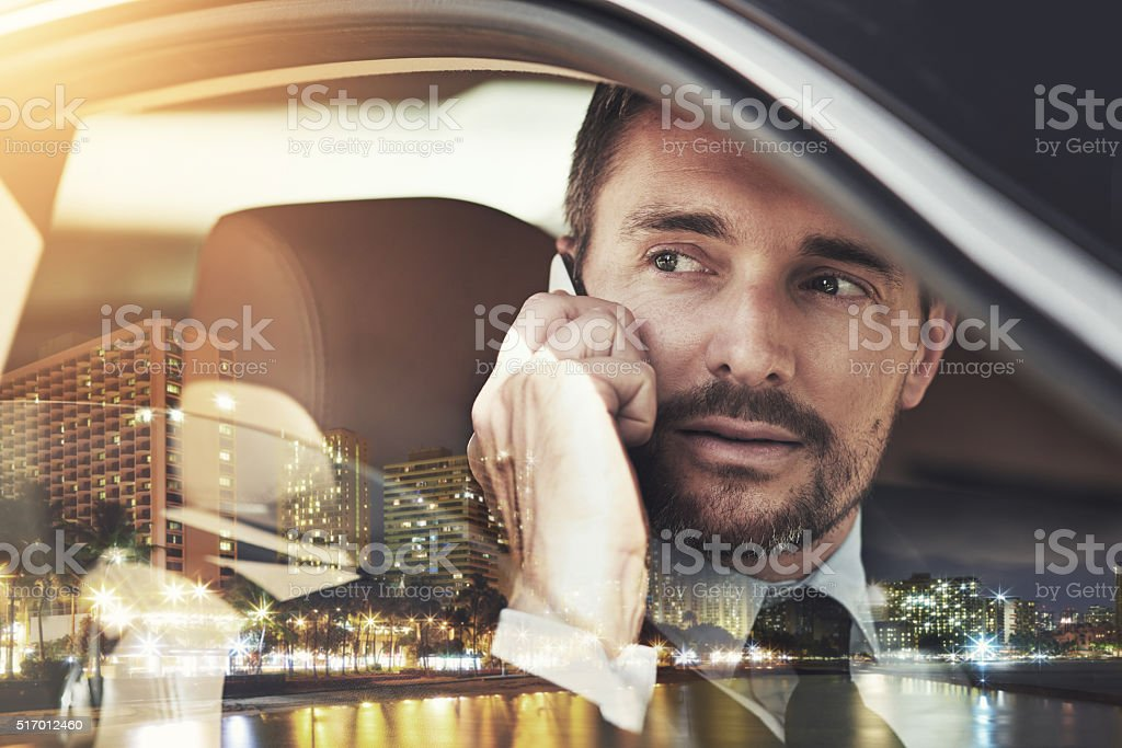 Business in the city stock photo