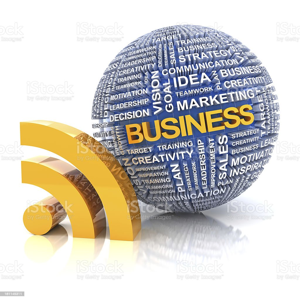 Business information royalty-free stock photo