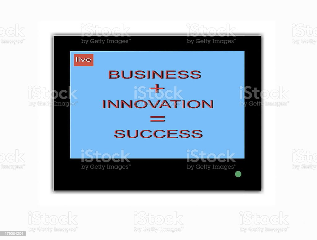 Business innovation success royalty-free stock photo