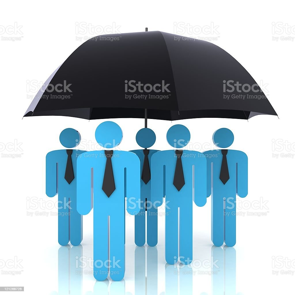 Business Insurance royalty-free stock photo