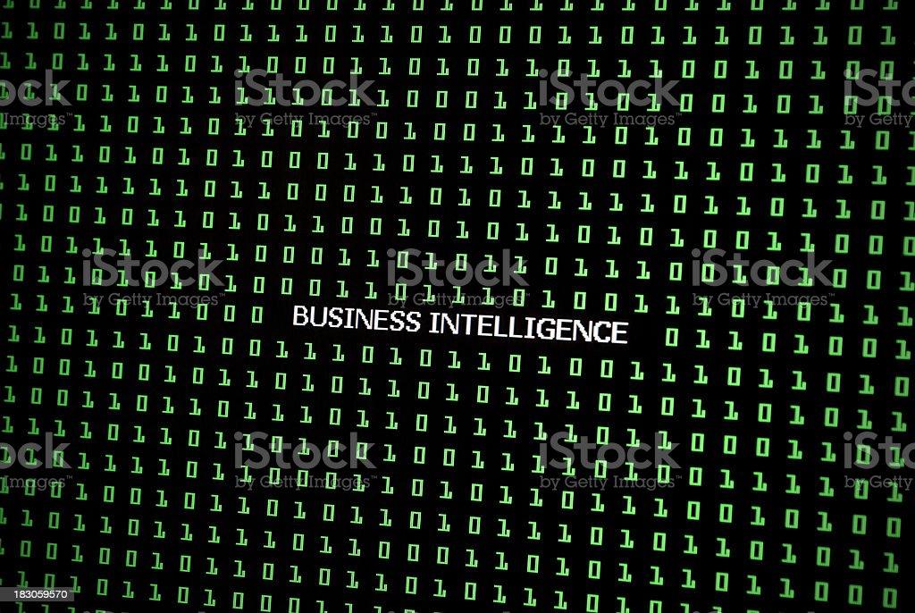 Business Intelligence stock photo