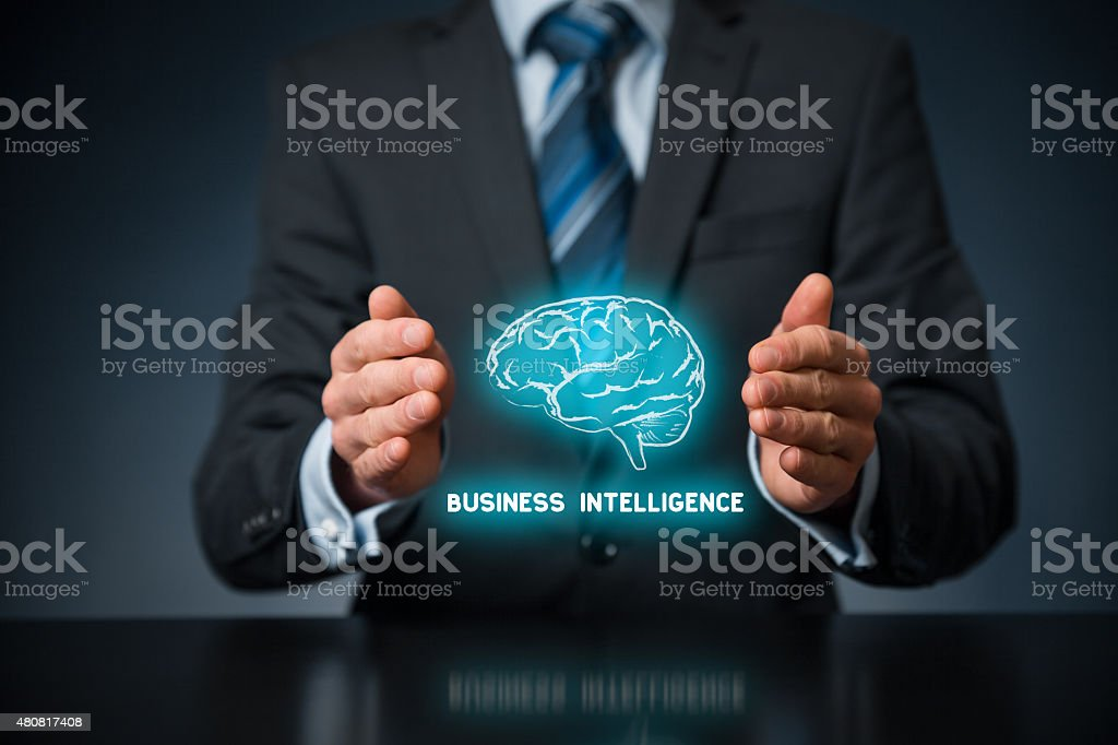 Business intelligence stock photo