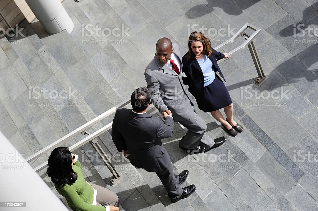 Business Introduction royalty-free stock photo