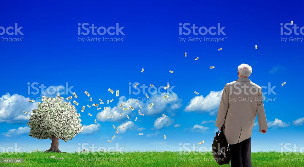business investment stock photo