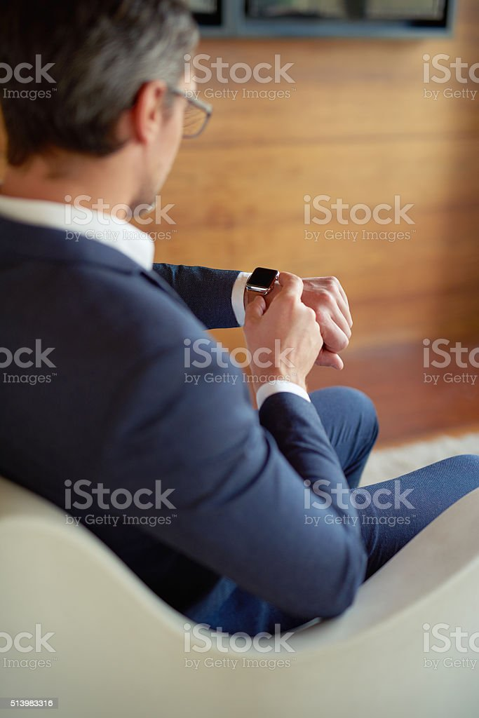Business is based on good time management stock photo