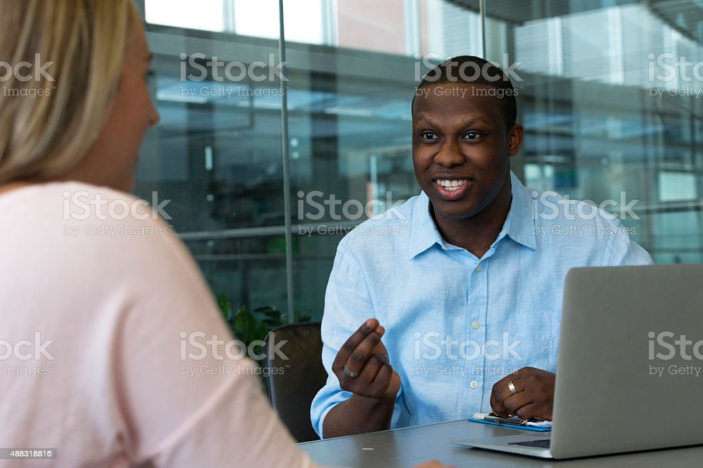 Business is Going Well stock photo