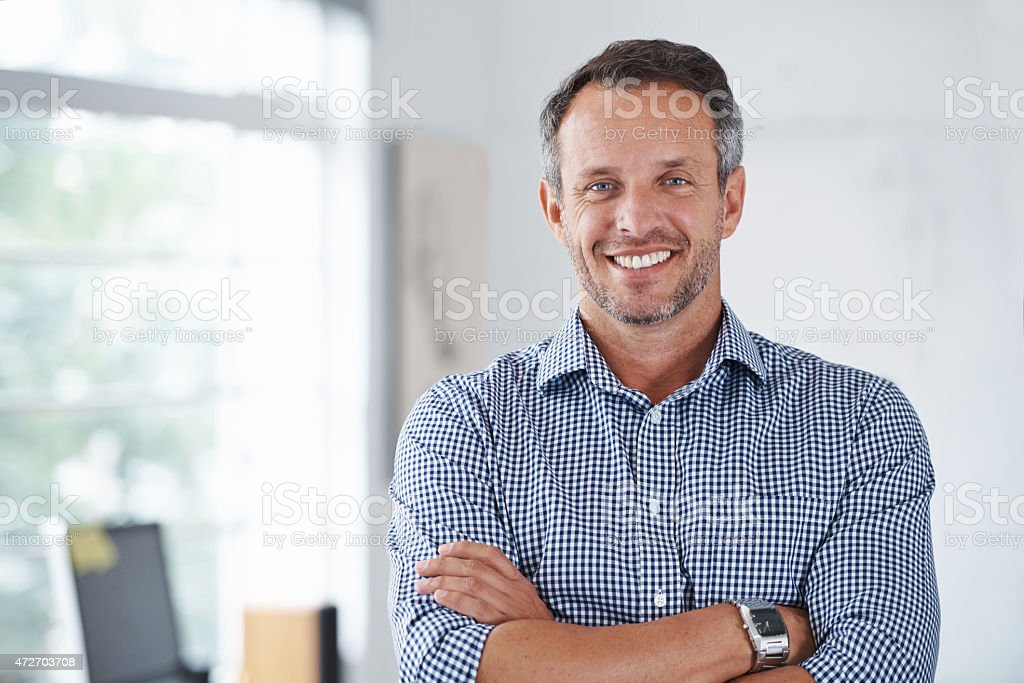 Business is good! stock photo