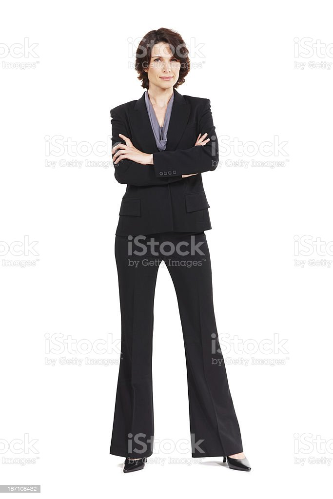 Business is her game royalty-free stock photo