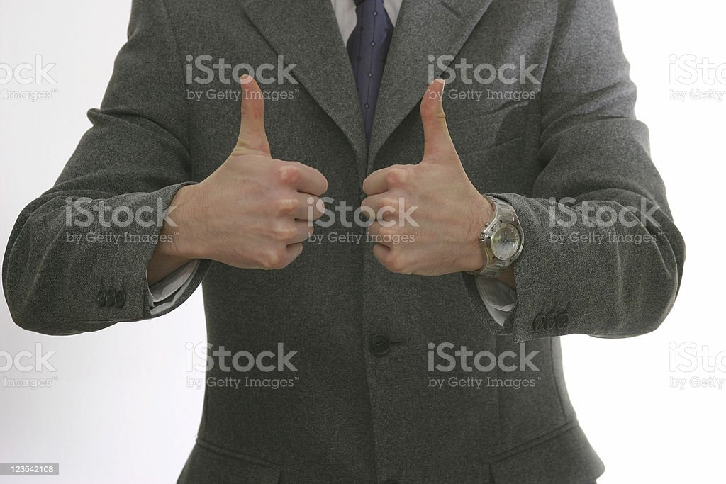 Business is OK royalty-free stock photo