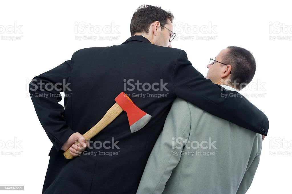 Business is tough stock photo