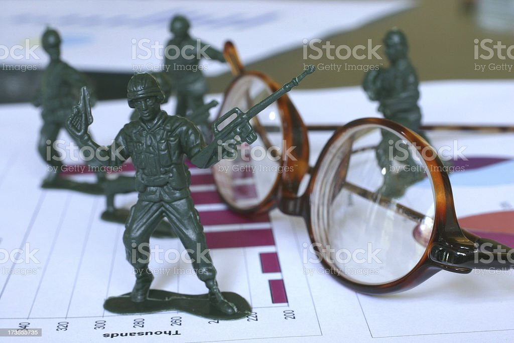 Business is War stock photo