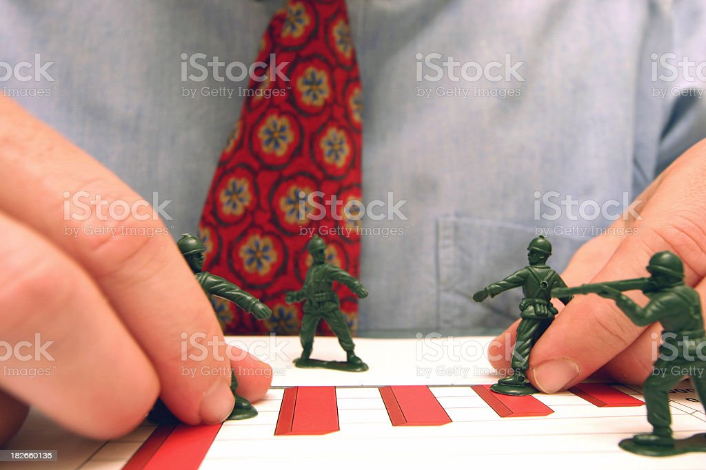 Business is War royalty-free stock photo