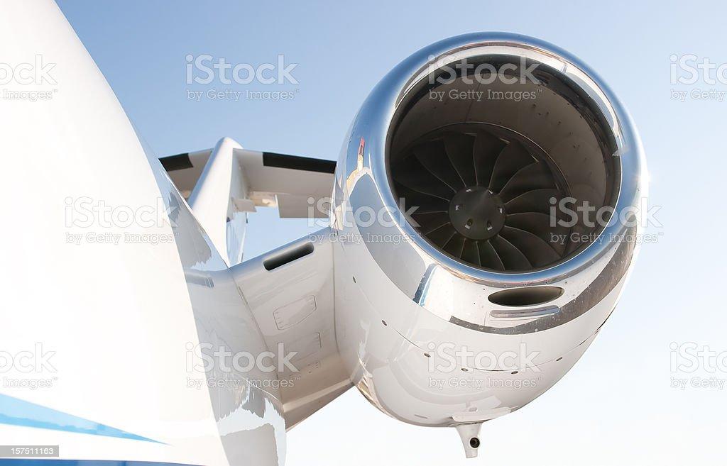 Business Jet - Cessna Citation stock photo
