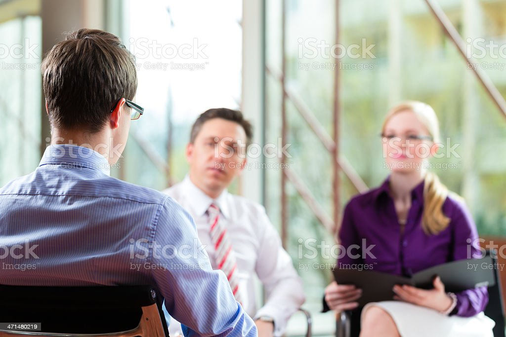 Business - Job Interview royalty-free stock photo