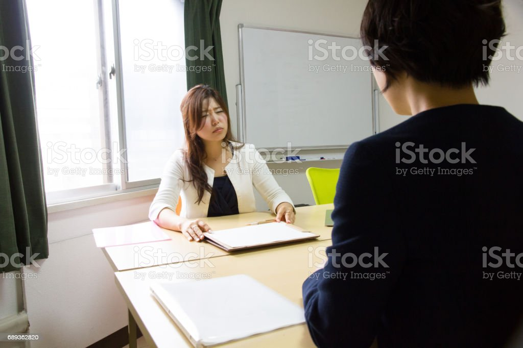 Business, Job Interview stock photo