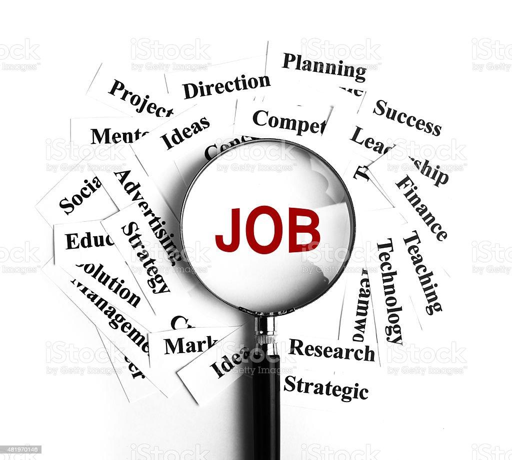 Business Job stock photo