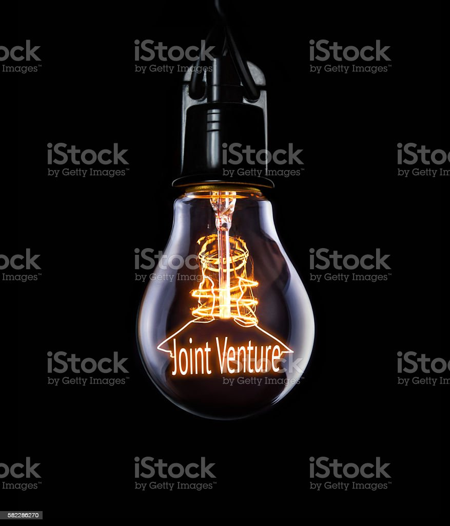 Business Joint Venture Concept stock photo