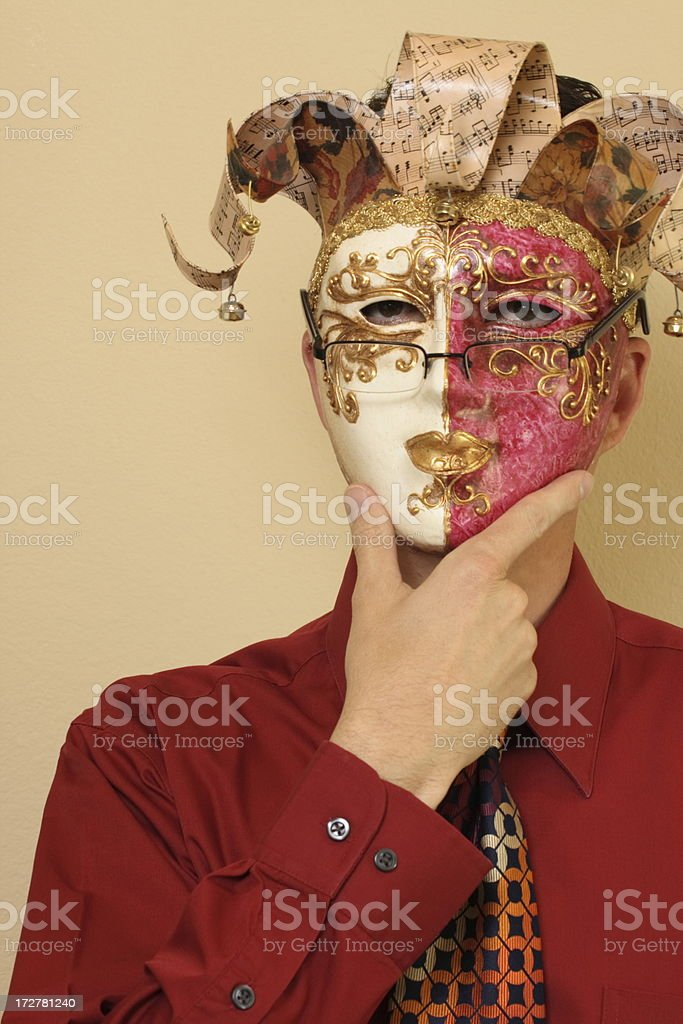 Business Joker stock photo