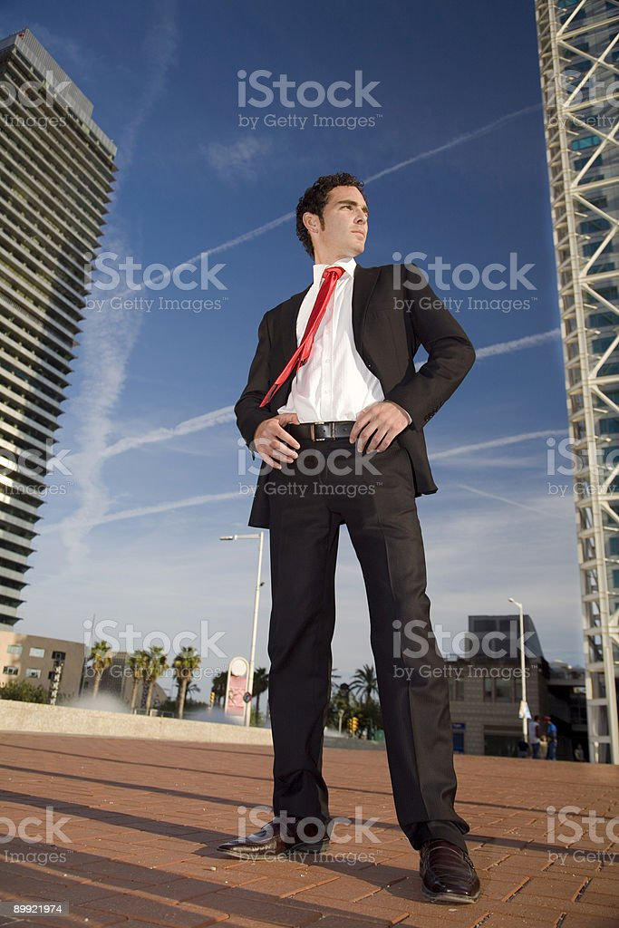 Business king royalty-free stock photo
