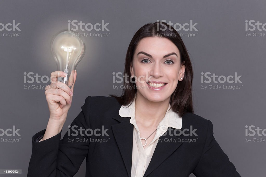 Business lady stock photo