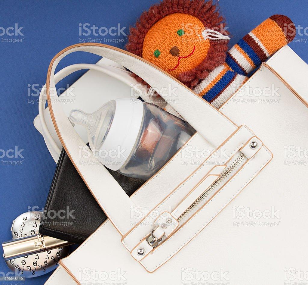 Business lady purse stock photo