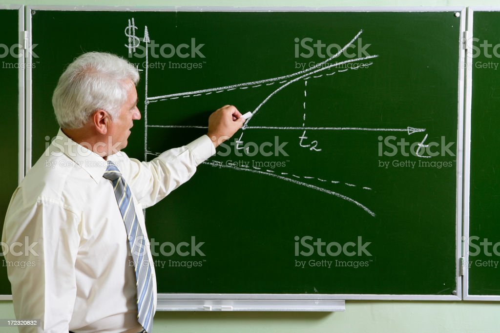 Business lecture royalty-free stock photo