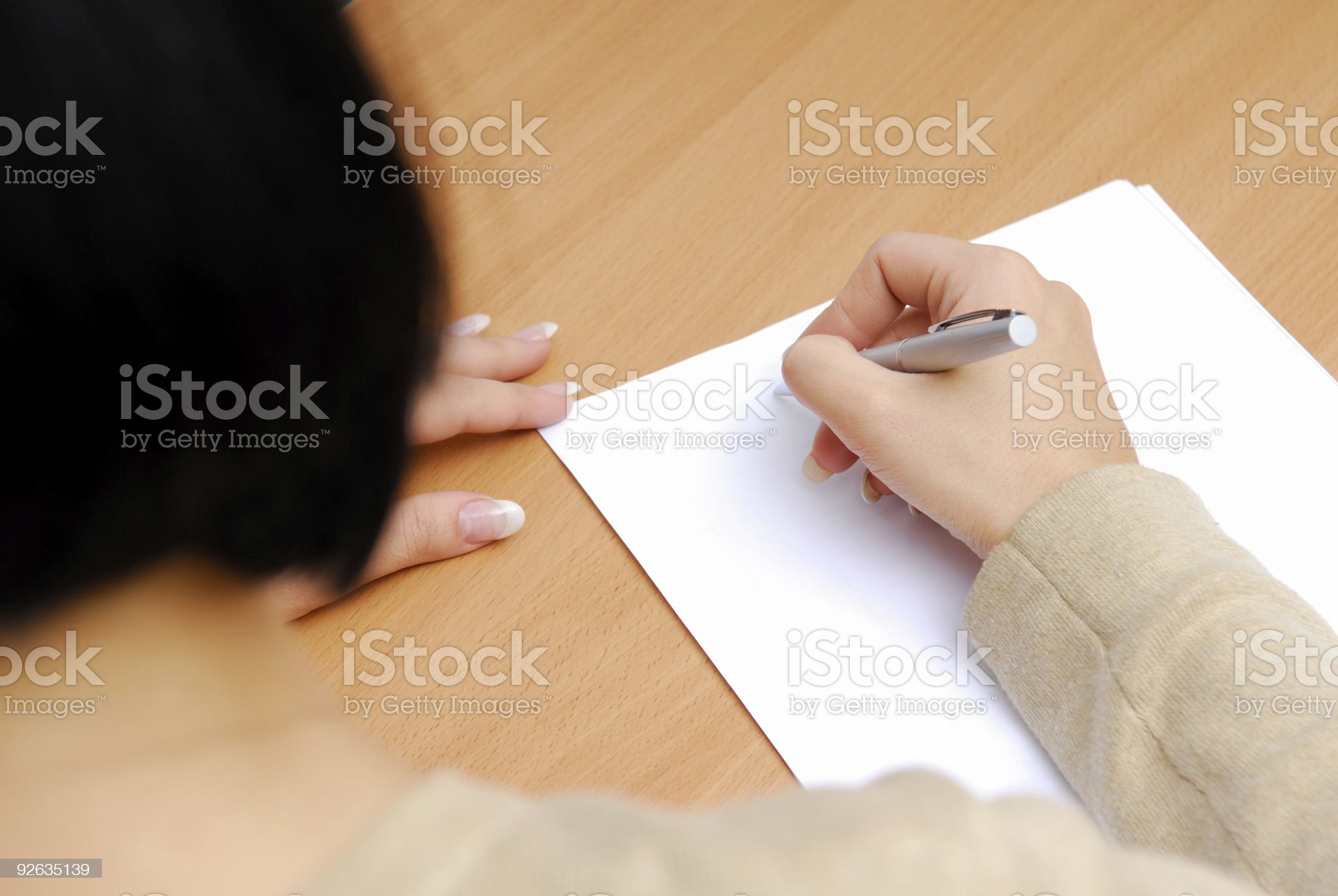 Business letter royalty-free stock photo