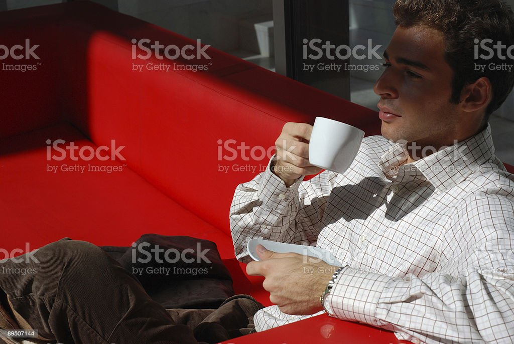 Business lounge royalty-free stock photo