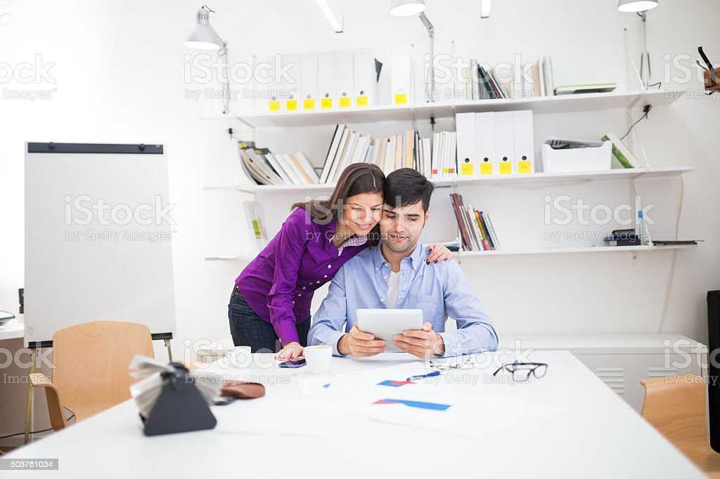 Business love stock photo