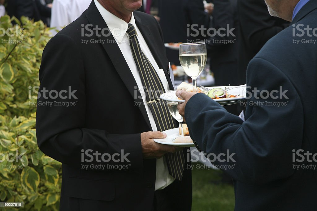 Business Lunch2 royalty-free stock photo
