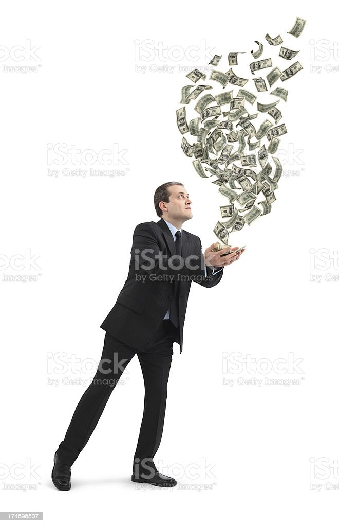 Business Magic royalty-free stock photo