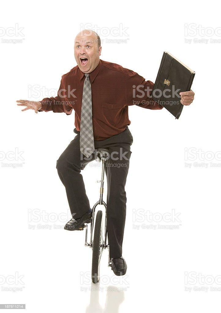 Business Man Balance royalty-free stock photo