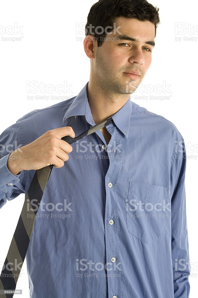 Business Man Chilling royalty-free stock photo