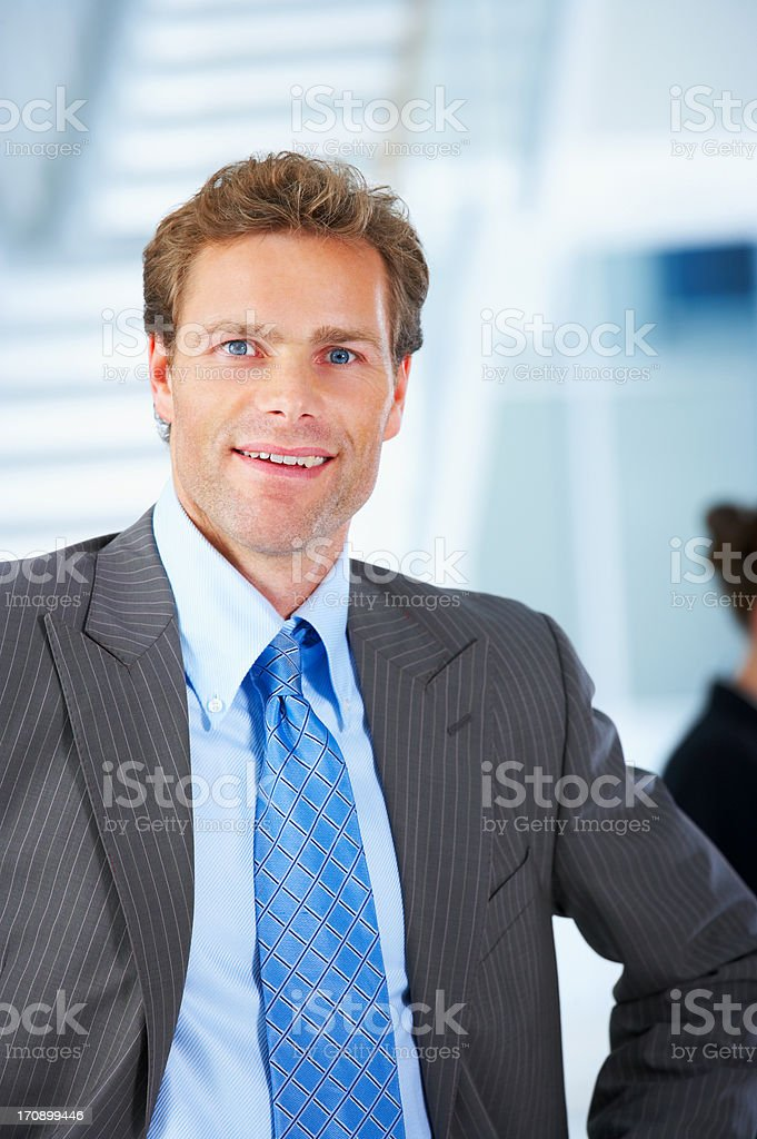Business man close up royalty-free stock photo