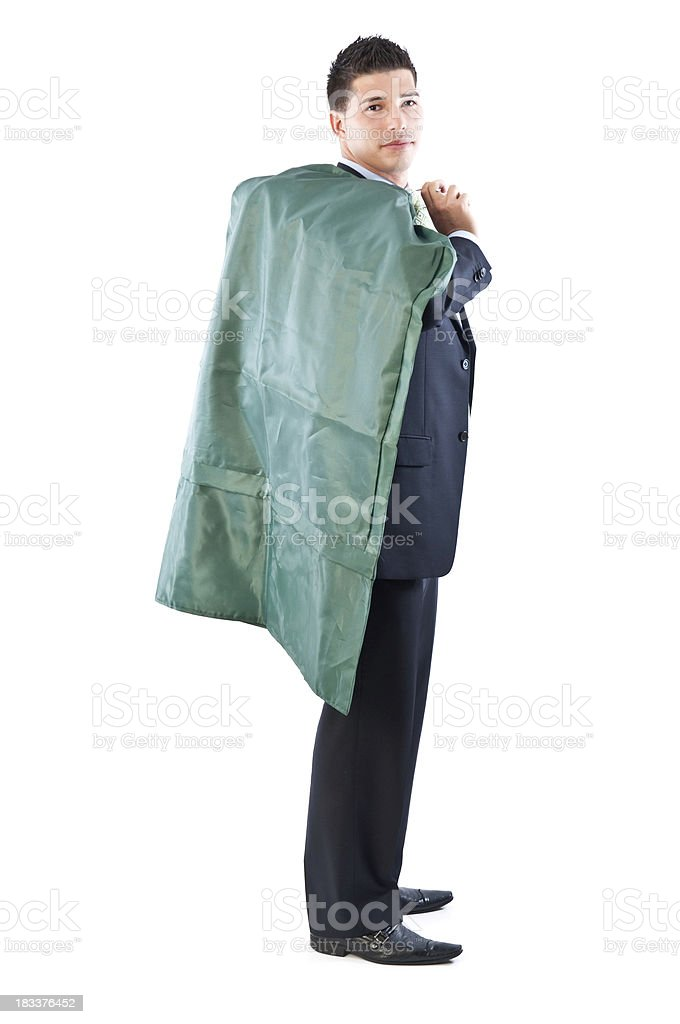 Business Man - Dry Cleaning stock photo