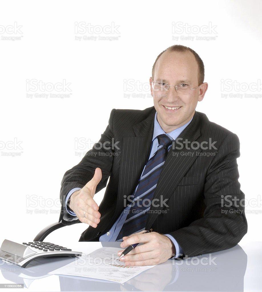 Business man III stock photo