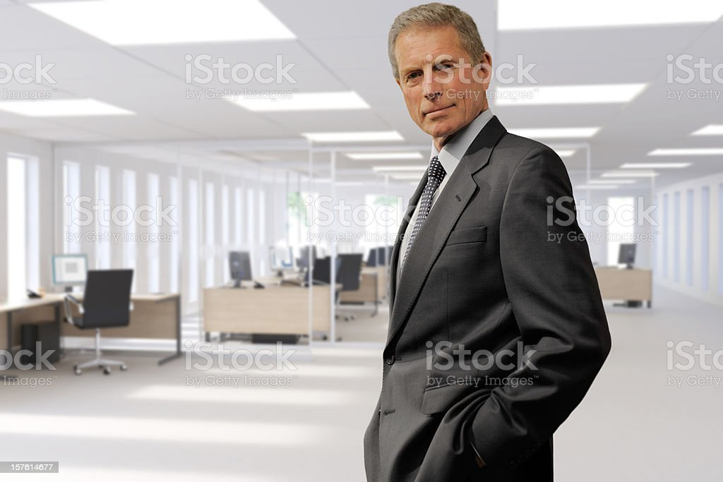 business man in office royalty-free stock photo