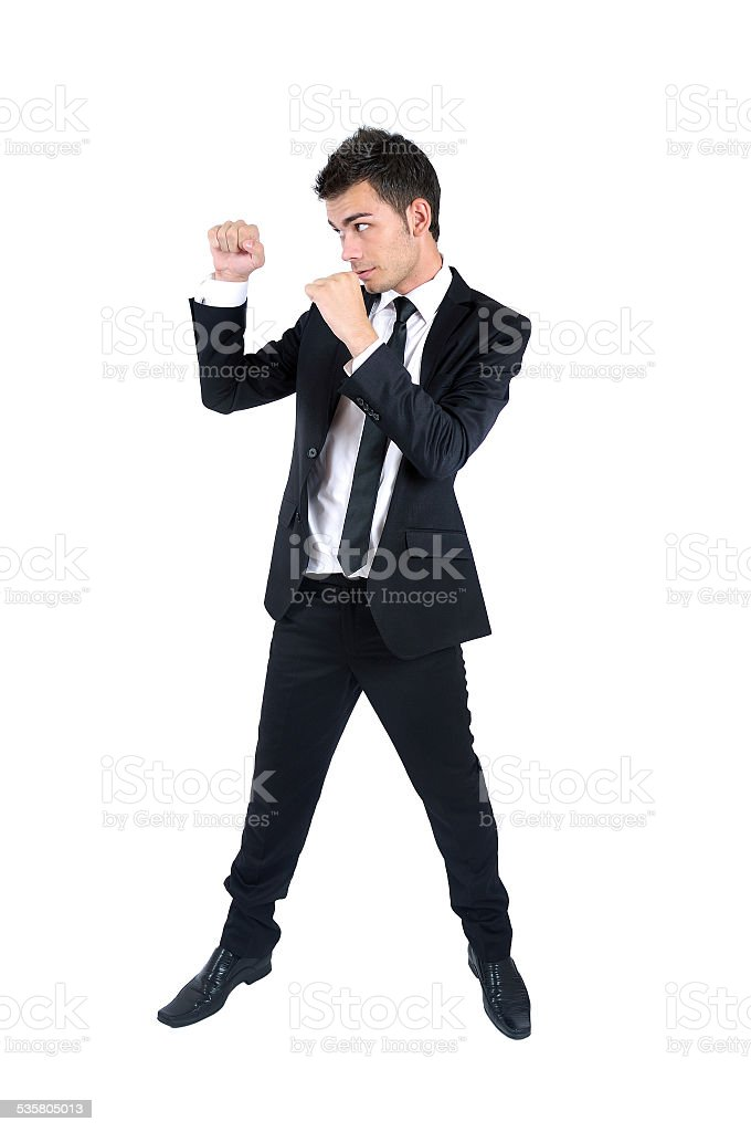 Business man isolated stock photo
