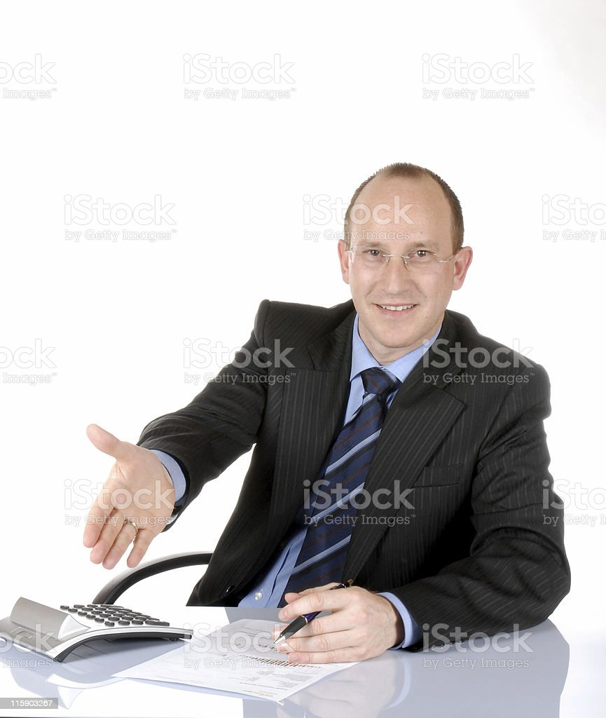 Business man IV stock photo