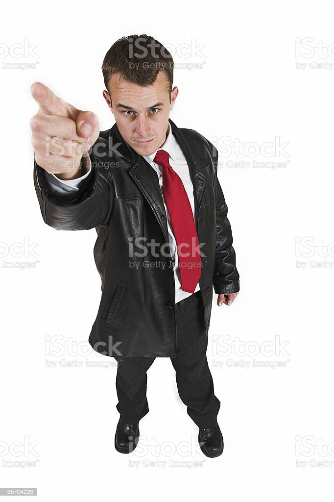 Business man #30 royalty-free stock photo