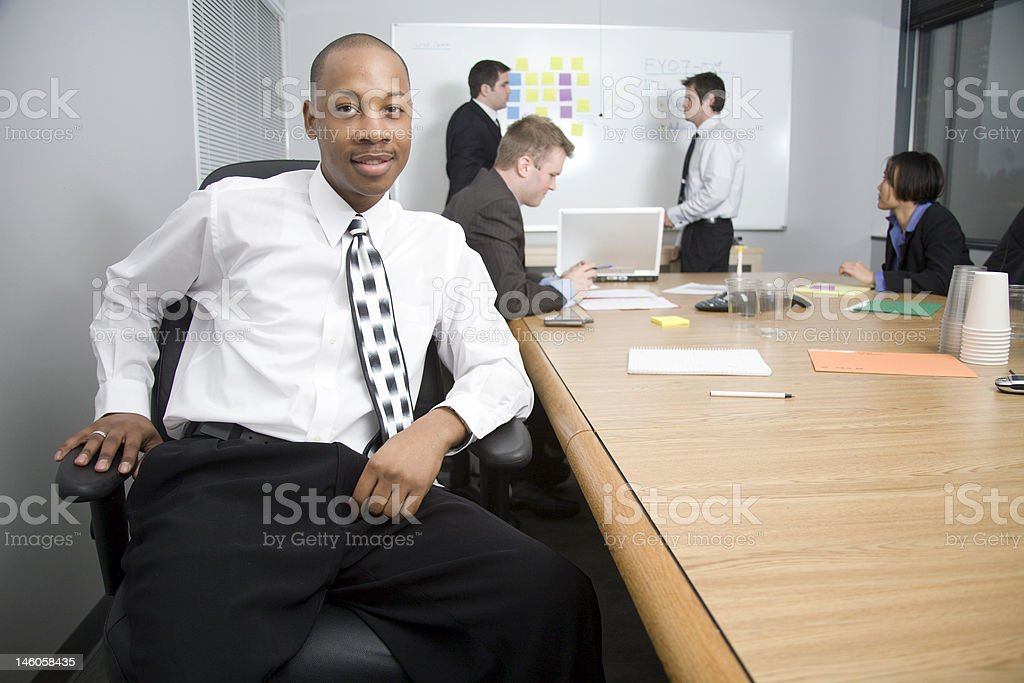 Business Man Portrait. royalty-free stock photo