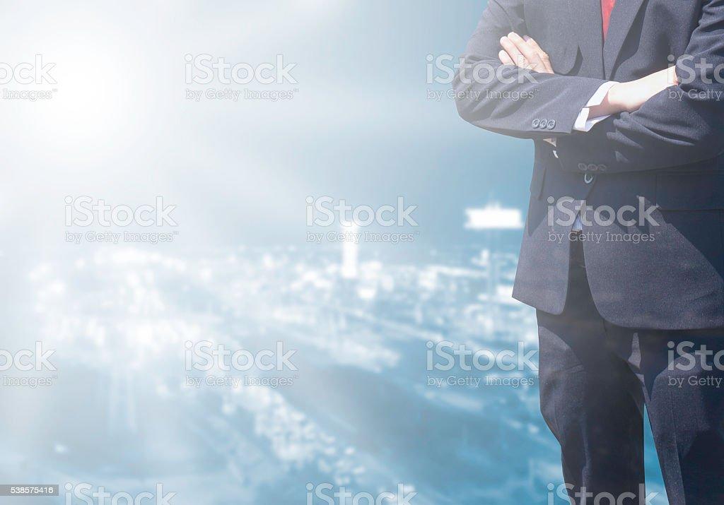 Business man success backgrounds. stock photo