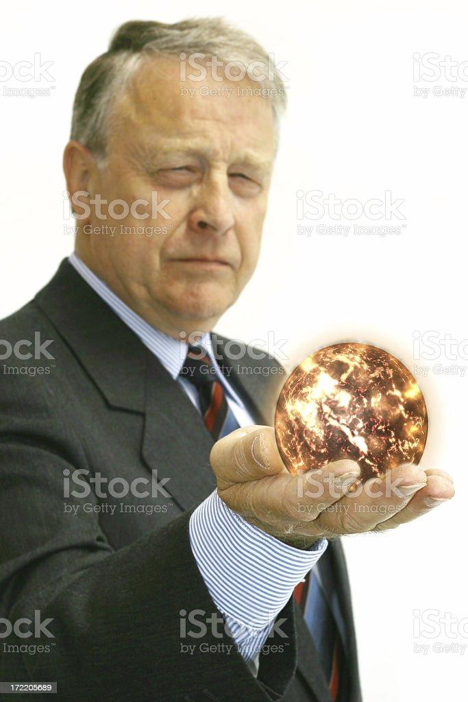 Business Man - Sun royalty-free stock photo