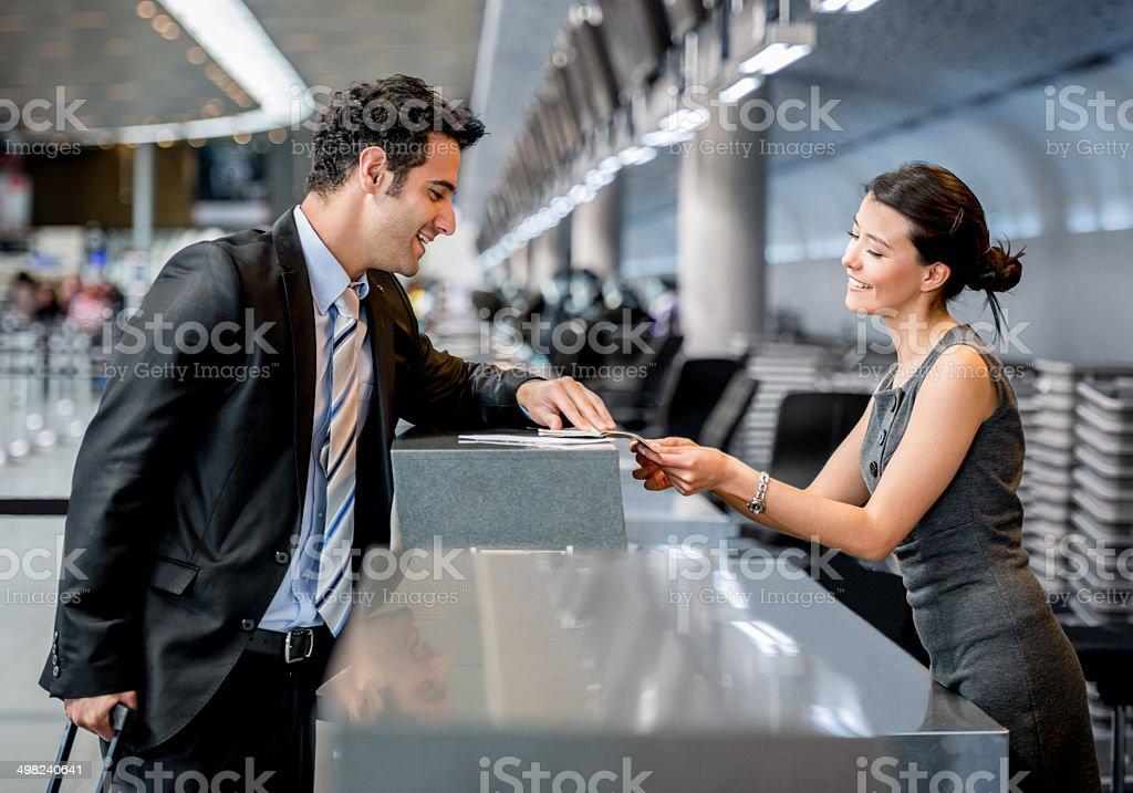 Business man traveling stock photo
