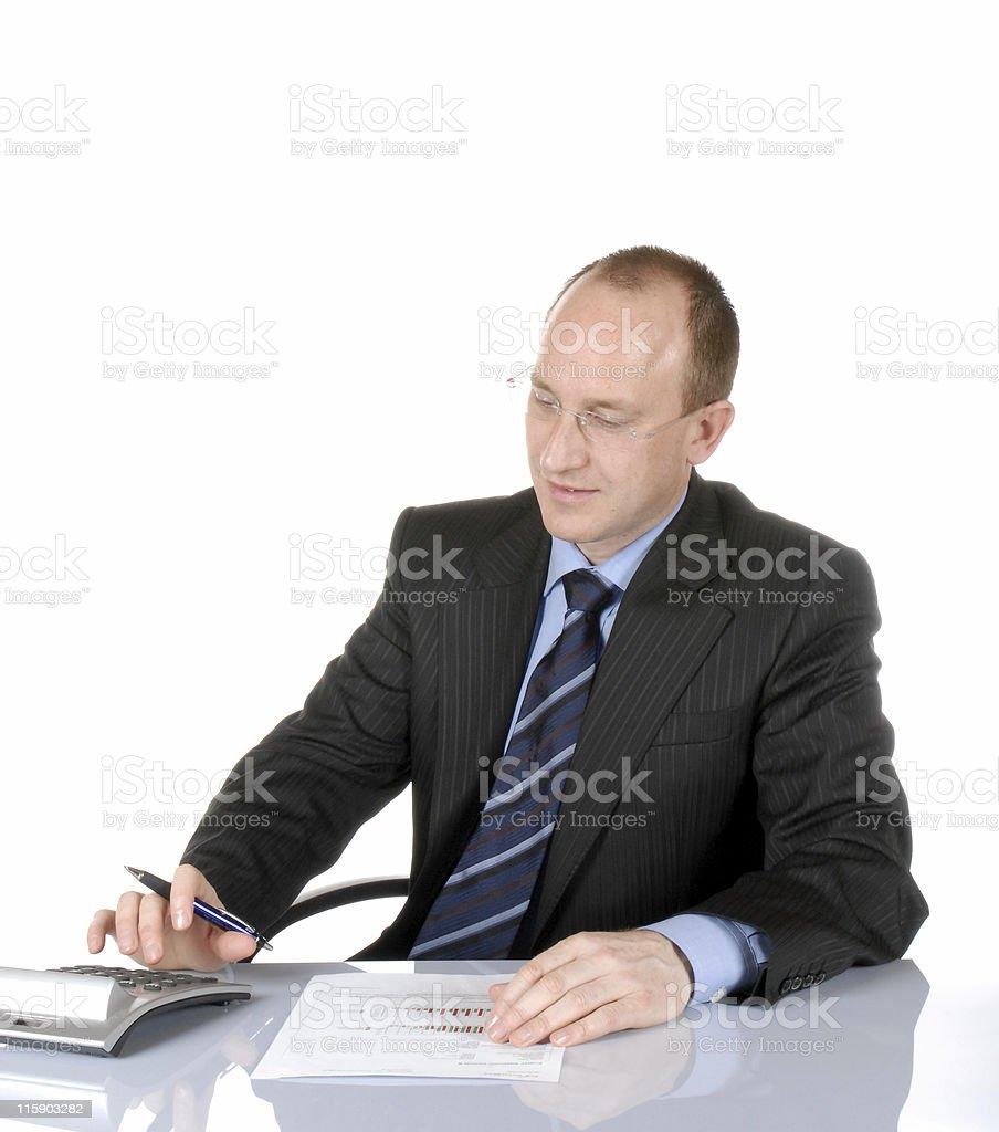 Business man VI stock photo