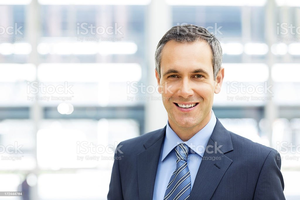 Business Manager Smiling royalty-free stock photo