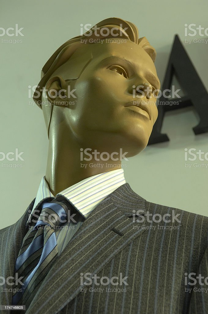 business mannequin royalty-free stock photo